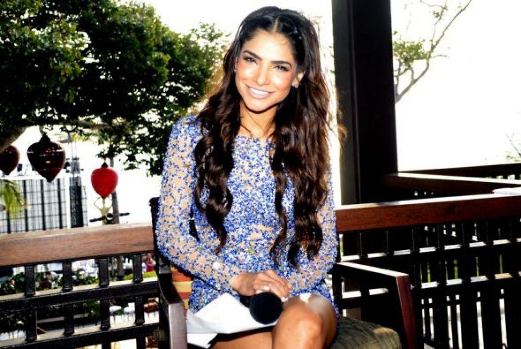 Alejandra Espinoza toda una belleza.