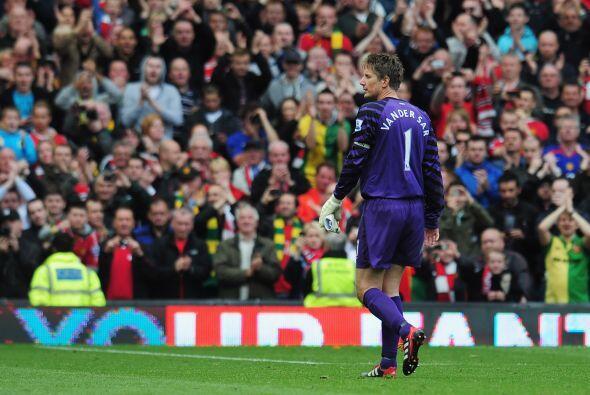 Van der Sar sabía la importancia de ese juego, su último e...