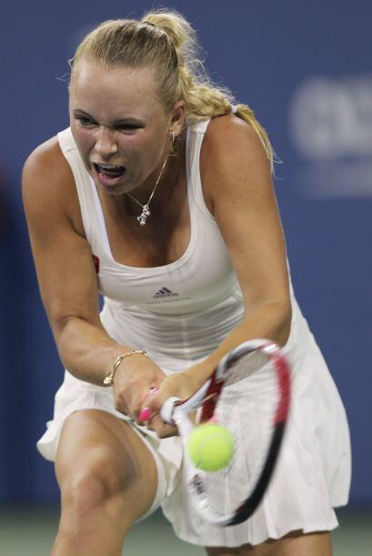 La danesa número 1 del mundo, Caroline Wozniacki[1] superó...