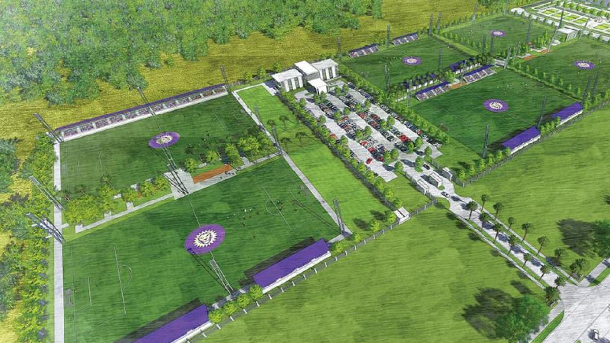 El render del proyecto de clase mundial de Orlando City.