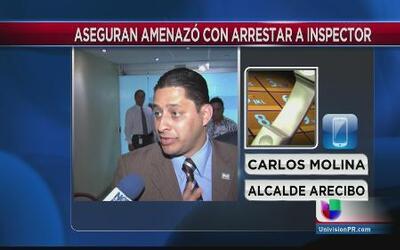 Controversia por inspección en plaza urbana de Arecibo