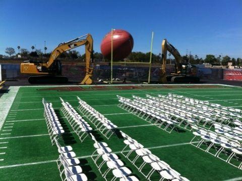 ¿Santa Clara 49ers? | Imágenes del nuevo estadio de los 49ers, comienzan...
