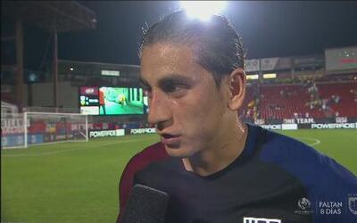 """Alejandro Bedoya: """"Ganamos el partido eso es lo que importa"""""""