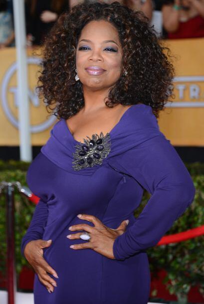 Oprah también concursó por el Screen Actors Guild, aunque se quedó con l...