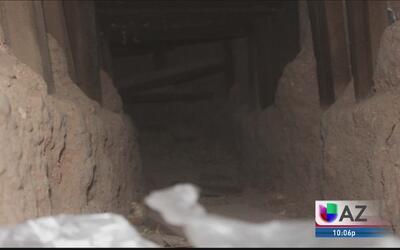 Encuentran narcotúnel en Arizona