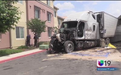 Trágico accidente dejó un muerto y varios daños en Turlock
