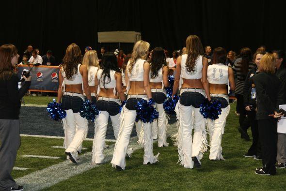 ¿Y qué sería de un Tazón sin las cheerleaders?