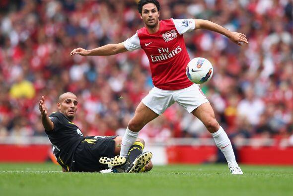 Arsenal parece haberse reencontrado con su fútbol y goleó al Bolton.