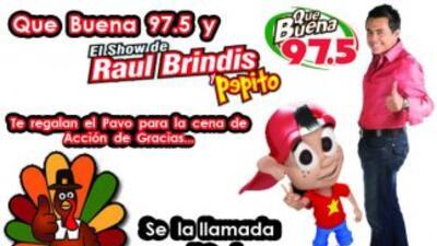 ¡Raul Brindis te regala tu pavo!