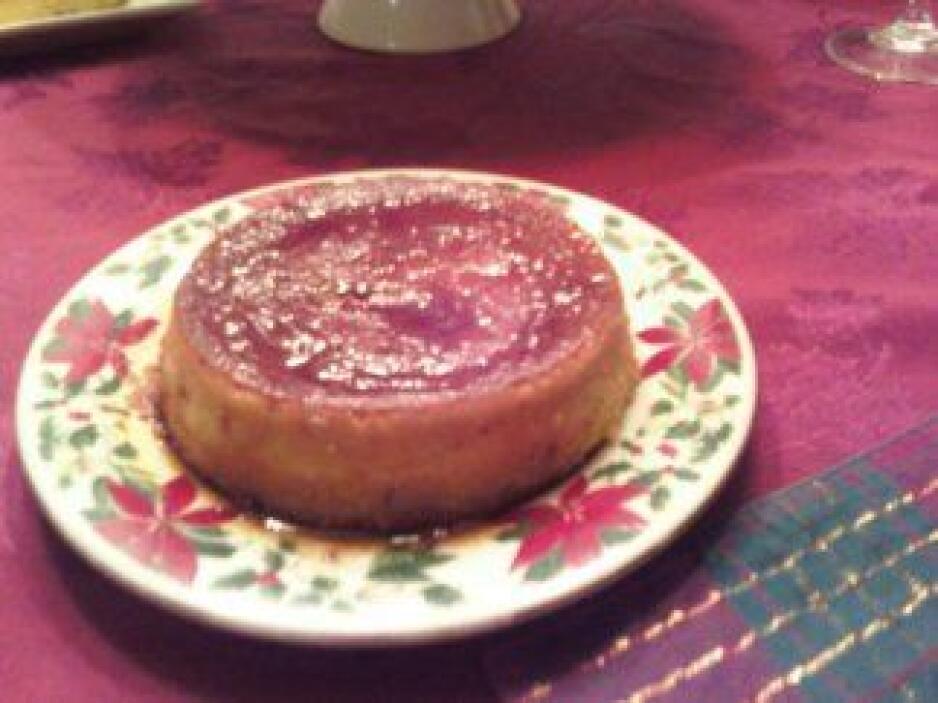 Flan de fresas: Un postre de fresas muy fácil y rápido de preparar con e...