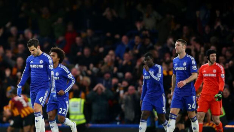 Los 'Blues' fueron goleados por el Bradford City tras ir arriba 2-0.
