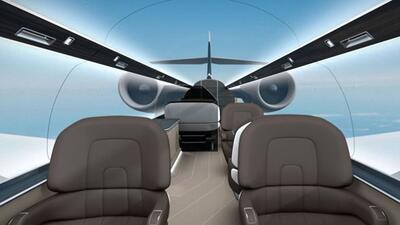 El Windowless Jet fue presentado en 2013 y está cada vez más cerca de se...