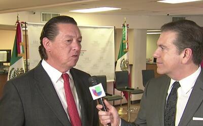 Foro de inmigración en el consulado general de México en Houston