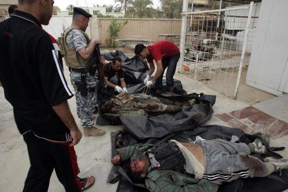 Esto sin contar las pérdidas en las fuerzas iraquíes de seguridad, que p...