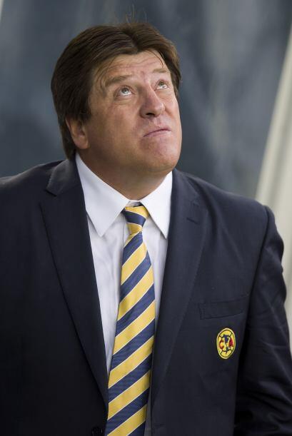Con Miguel Herrera los emplumados amarillos no perdieron hasta la jornad...