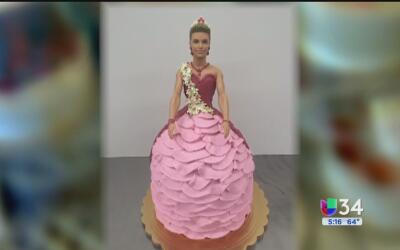 Pastel de cumpleaños de Ken vestido de mujer desata la controversia en r...