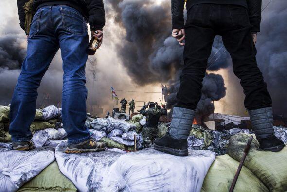Dicha plaza ha sido el corazón de las multitudinarias protestas p...