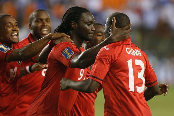 Trinidad y Tobago es un equipo potente y mucho físico. Fue capaz...