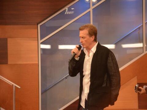 Emmanuel fue uno de los invitados especiales de la quinta semana de la c...