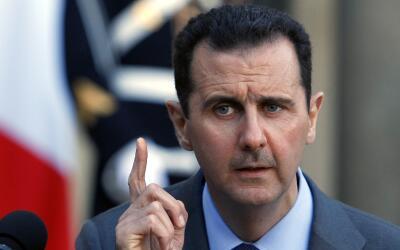 Bashar al-Asad, presidente de Siria