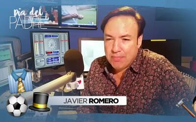Javier Romero nos dice cual es el mejor regalo que su padre le ha dado.