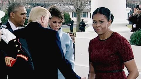 Contener las lágrimas por sus hijas: Michelle explica su momento incómod...