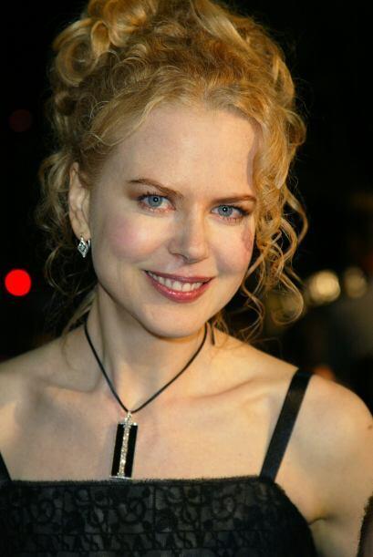 Nicole Kidman cautivó a millones de caballeros con su carita de muñeca,...