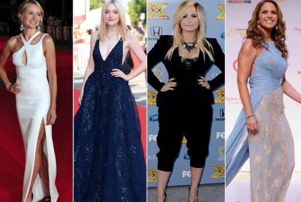 Aquí te traemos los 'looks' más 'glamourosos' y los más espantosos de la...