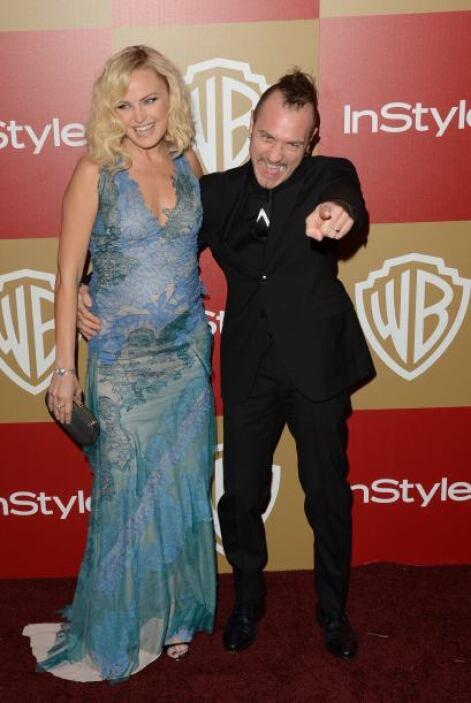 Malin Ackerman está casada con el músico italiano Roberto Zincone desde...