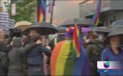 Comunidad LGTB celebra victoria