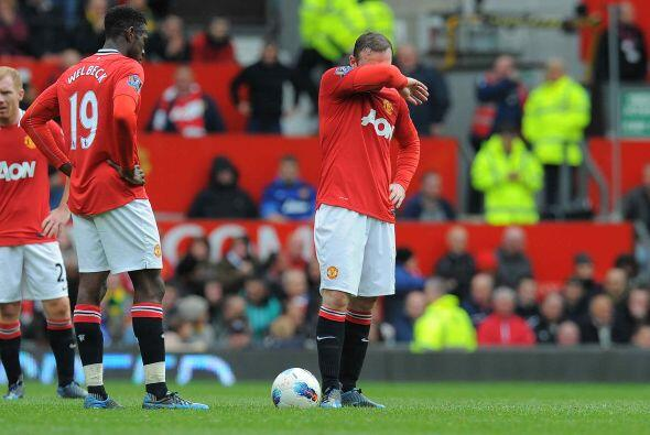 En Old Trafford le sacaban un empate inesperado al United.