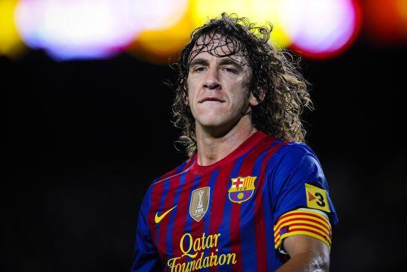 Carles Puyol, capitán del Barcelona que en este tramo de su carre...