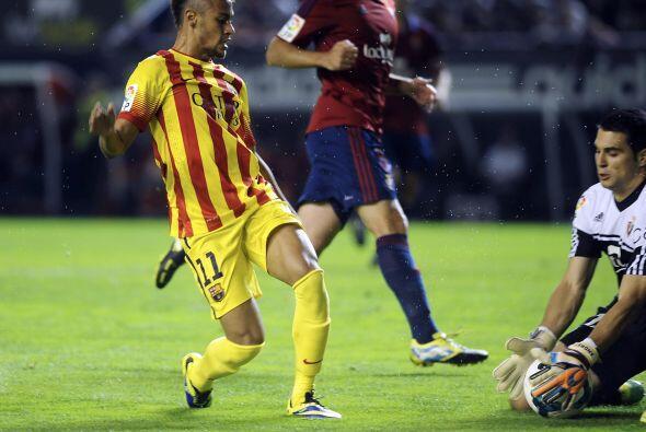 Andrés Fernández fue el último eslabón insuperable para el Barcelona.