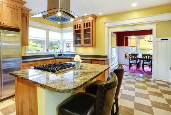 La cocina. Tu cocina podría volverse más alegre y luminosa, pintada de a...