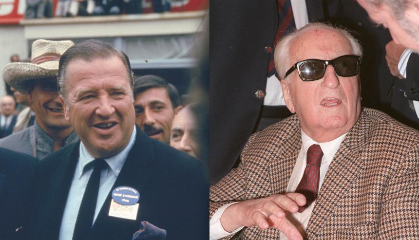 Henry Ford y Enzo Ferrari