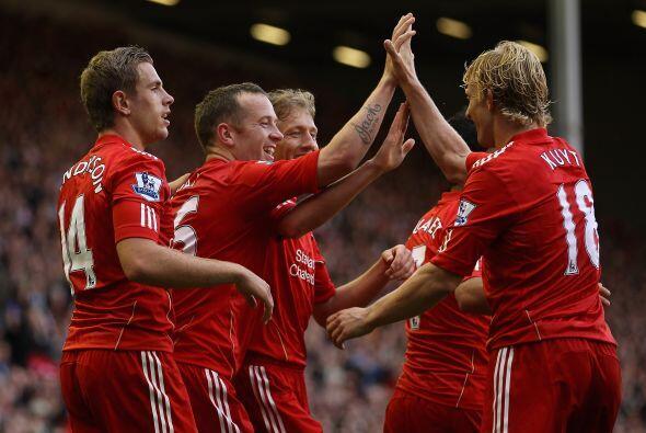 A los 14 del primer tiempo, los 'Reds' se pusieron arriba gracias a un g...