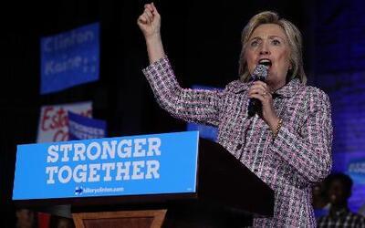 Hillary Clinton se convierte en la primera mujer nominada a la Casa Blanca