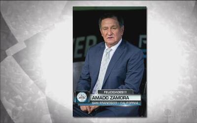 Amado Zamora adivinó el acertijo en Fanáticos del Frío