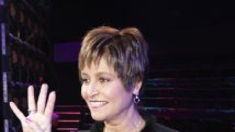 Daniela Romo, conductora del programa.