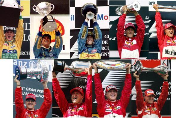 En 2004 Michael Schumacher conquistó su séptimo Campeonato Mundial de F1...