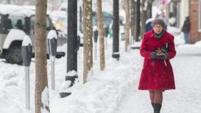 En Wodford (Vermont) la acumulación de nieve alcanzó 53 centímetros; en...