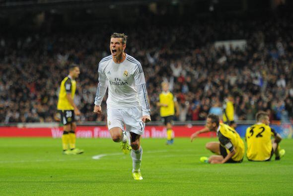 A los 27 minutos, Bale volvió a hacer de las suyas.