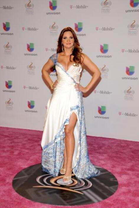 """En telenovelas como """"Por Ella Soy Eva"""" y """"La Tempestad"""" fue una villana..."""