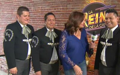 Mariachi Vargas de Tecalitlán llegó su experiencia a la casa de La Reina...