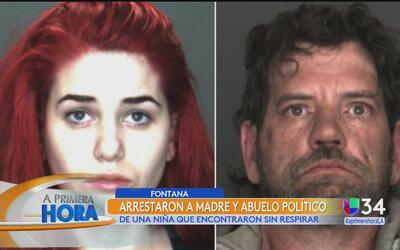 Arrestan a madre y al abuelo político de una menor hallada en una casa d...