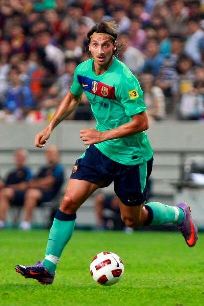 Mientras se define su futuro, Zlatan Ibrahimovic sigue siendo jugador de...