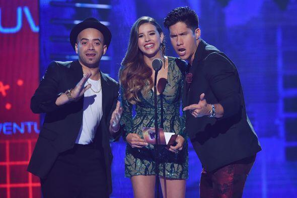 Paulina Goto y Chino y Nacho fueron quienes anunciaron al ganador de Lo...