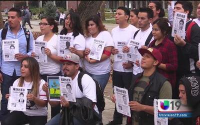 Sacramento City College protesta por Ayotzinapa