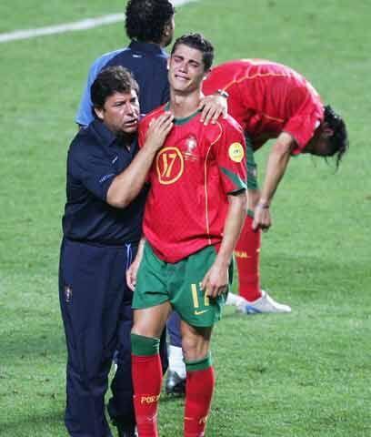 Asignatura pendienteCon la selección mayor de Portugal Cristiano...