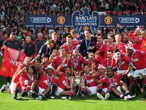 El Manchester United es el club más ganador de Inglaterra. Se aca...